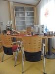 Besprechung im Arztzimmer im  Zentrum für ganzheitliches Heilen